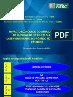 BR-101 Sul Impacto Economico