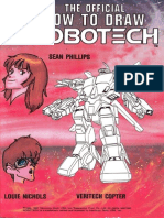 The Official How to Draw Robotech 07