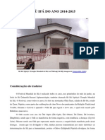 Odu Ifa Do Ano 2014-2015-Libre