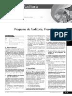 Ventajas de Un Programa de Auditoria