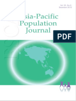 Asia Pacific Population Journal