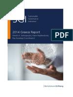 SGI - Greece Report - 2014