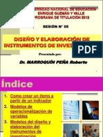 Instrumentos Investigacion
