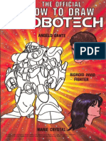 The Official How to Draw Robotech 08