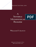 ALSTON, W. - A Sensible Metaphysical Realism (2001)