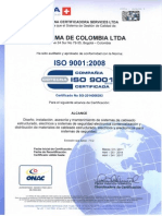 Shinema de Colombia Ltda- 9001