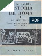 Historia de Roma Parte I