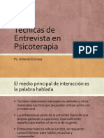Entrevista. Aspectos Generales y Modelo Guía (1)