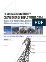 Ceres BenchmarkCleanEnergy report