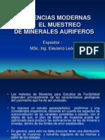 Tendencias Modernas En El Muestreo De Minerales Auriferos.ppt