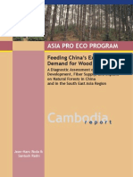 Feeding China's Expanding Demand for Wood Pulp