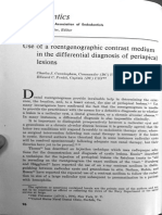 Articulo 1960 Use of a Roentgenographic Contrast Medium in the Differential Diagnosis of Periapical Lesions - Copia