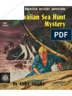 Biff Brewster Mystery #3 Hawaiian Sea Hunt Mystery
