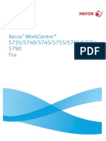 Xerox Work Centre 5755 FaxingManual