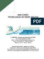 Minicurso Tecnologias de Redes Sem Fio