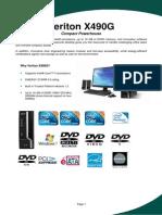 Acer Veriton X490G
