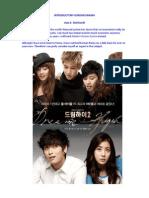 Korean Drama Course of Economics