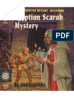 Biff Brewster Mystery #9 Egyptian Scarab Mystery
