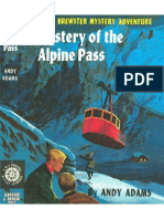Biff Brewster Mystery #13 Mystery of the Alpine Pass