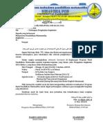contoh Surat 2 (Undangan (Mahasiswa) Pengajian Angkatan) 11A