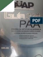 Prueba de Aptitud Academica BUAP 2014