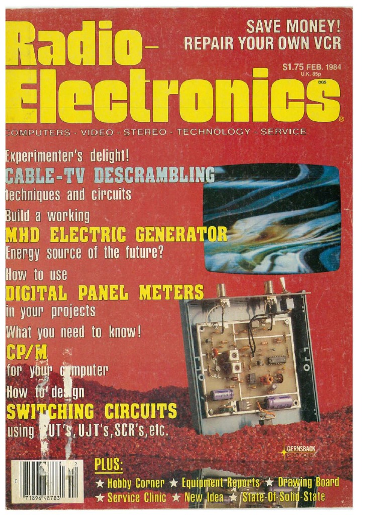 Re 1984 02 Satellite Television Communications Other Circuits Gt 555 Lm555 Ne555 Timer Negative Voltage