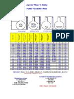 Manufacturer_flange Orifice Plate Holder