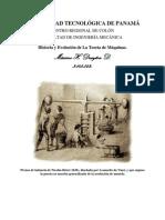Historia y Evolución de La Teoría de Máquinas
