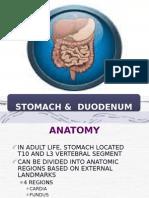 presentation stomach cancer