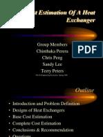 Process Equipment Cost Estimation-Heat-Exchanger
