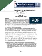 Adams 12 School District Increases Subsidy
