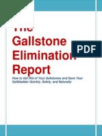 Gallstone Elimination Report