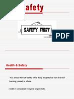 Lab safety first