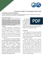 KPIM of Gas Condensate Productivity - Prediction of Condensate Gas Ratio (CGR) Using Reservoir Volumetric Balance