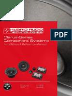 Clarus Components Manual