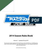 LFSCART Series 2014 Rules Book