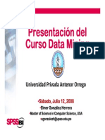 DM I-00 Presentation 2008