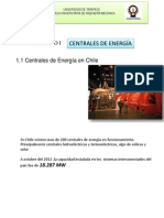 (1) Centrales de Energía en Chile