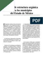Estructura Municipios Edo de Mex