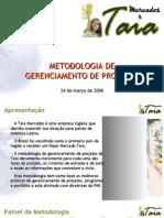 Exemplo de Metodologia de Gerenciamento de Projetos