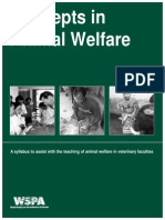 Concepts in Animal Welfare