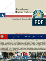 Mexican Cartels Use of Improvised Grenades