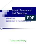 Pumps Selection Lecture