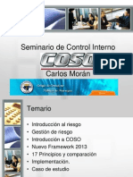 Seminario de Control Interno - COSO