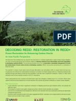 Decoding REDD :RESTORATION IN REDD+ Forest Restoration for Enhancing Carbon Stocks