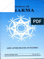 Journal of Dharma Oct - Dec. 2012 Vol. 37 No. 4