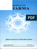 Journal of Dharma Jan - March. 2012 Vol. 37 No. 1