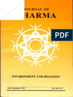 Journal of Dharma July - Sep. 2011 Vol. 36 No. 3