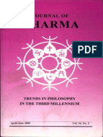 Journal of Dharma Apr - June 2009 Vol. 34 No. 2