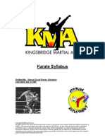 Kingsbridge Martial Art Syllabus